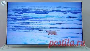 Большой телевизор за невысокую цену, у которого качественная цветопередача и хороший черный цвет | ТехОбзор | Яндекс Дзен