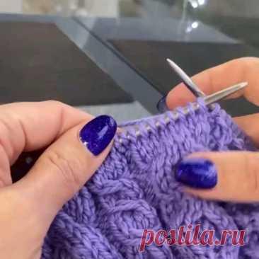 Очень полезные видео от замечательного Мастера @knits_tina 💕🌹🌹🌹 .  Девочки, посмотрите как можно выполнять перехлесты в аранах без дополнительной спицы. Применив такие методы вы полюбите вязать и косы, и араны 🥰 . Благодарим Алевтину @knits_tina За эти #полезности 🌹🌹🌹 . Обязательно переходите в аккаунт @knits_tina, там оооочень много полезного и интересного!) 👌 .