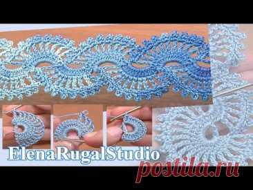 Crochet Umbilical Tape Lace Tie
