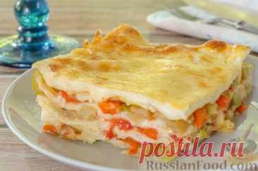 Рецепт: Овощная лазанья на RussianFood.com