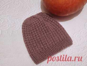 Вяжем шапку спицами узором из 2 рядов » «Хомяк55» - всё о вязании спицами и крючком