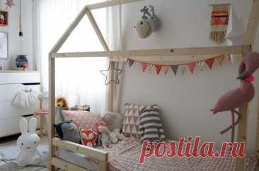 Своими руками: Как сделать кровать-домик для ребенка Кровать в виде домика — мечта дошкольника. Сделать ее можно всего-то за... Читай дальше на сайте. Жми подробнее ➡