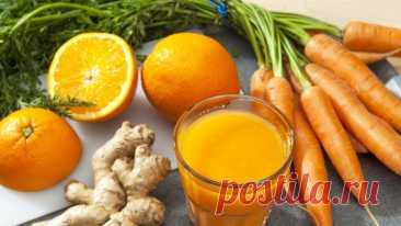 Коктейль «Морковь и имбирь» эликсир красоты и здоровья - Образованная Сова