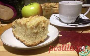 Яблочный кухен на белом вине Кулинарный рецепт