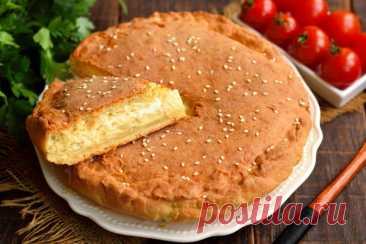 Закусочный пирог быстрого приготовления