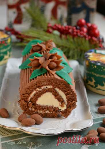 Французское рождественское полено - В будни и праздники — LiveJournal