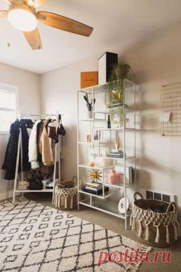 Открытая форма хранения одежды и вещей. Как Вам?!