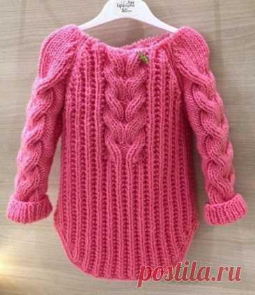 Красивая резинка для пуловера