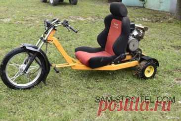 Самодельный трицикл с двигателем Lifan18.5 л.с