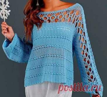 Симпатичный узор для кофточки/пуловера