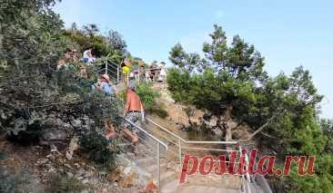 Женщина поднималась с пляжа 800 ступеней особым шагом, чтобы не устать. Дома я попробовал тоже, и правда легче. Демонстрирую | Зоркий | Яндекс Дзен
