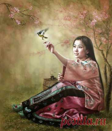 Выбор за тобой...Китайская художница Xu Fang