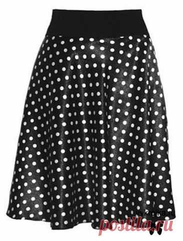 Los patrones de las faldas. Bajar gratis los patrones de las faldas para los niños y los adultos la Página 1