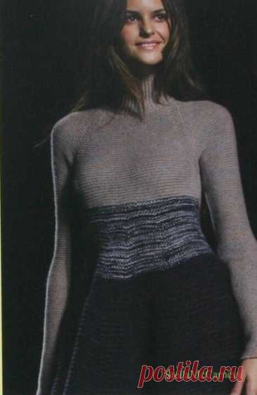 Высокая мода - как источник вдохновения №1 (вязание) | Sana Lace Knit | Яндекс Дзен