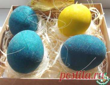 Крашеные яйца в белом вине – кулинарный рецепт