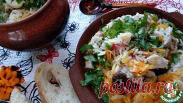 Свинина в горшочке с рисом и черносливом Кулинарный рецепт