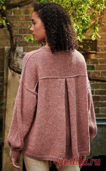 Свободный вязаный свитер «Kallio»