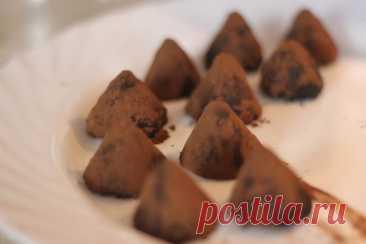 Безумно вкусные и очень шоколадные трюфели
