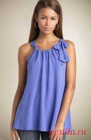 Блузки, которые шьются легко и быстро и при этом выглядят роскошно