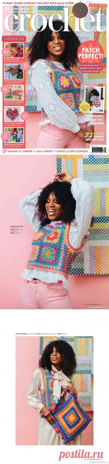 Inside Crochet № 134 2021 | Женская одежда крючком. Схемы и описание