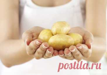 Народные средства для лица из картофеля