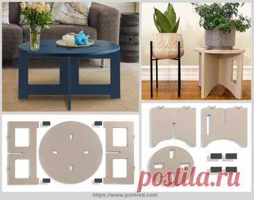 Уникальная сборная коллекция мебели   Идеи домашнего мастера