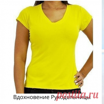Выкройка женской футболки из трикотажа, Размеры 42-52 | ВДОХНОВЕНИЕ РУКОДЕЛЬНИЦЫ | Яндекс Дзен