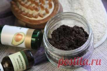 La receta por el tsitrusovo-cafetín de la skraba-máscara | CityWomanCafe.com