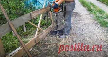 Как установить забор из сетки Рабица своими руками