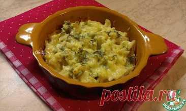 Цветная капуста, запечённая с сыром Кулинарный рецепт