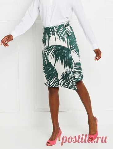 Выкройка юбки размеры 36-48 eur
