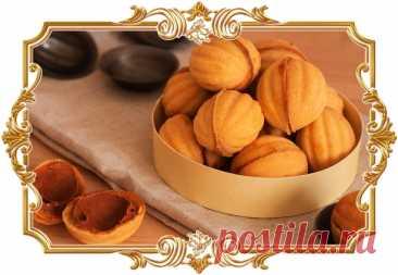 Те самые #орешки #со #сгущёнкой (#рецепт #для #детей и не только)  Золотистая скорлупка из хрустящего теста, полная начинки из густой сгущёнки. Вкус этого десерта буквально вернёт вас #в #детство.  Время приготовления: Показать полностью...