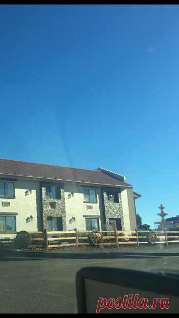 Мотель в Аризоне. США