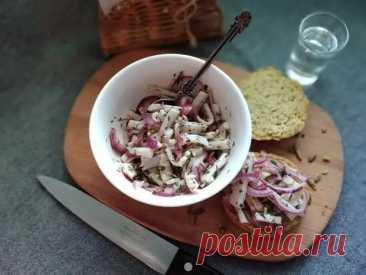 Закуска из солёного сала - БУДЕТ ВКУСНО! - медиаплатформа МирТесен