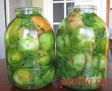22 супер рецепта из зелёных помидоров — 🍎 Сад Заготовки