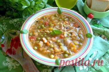Щи из молодой капусты с горошком #литкухня и #кулинар – пошаговый рецепт с фотографиями
