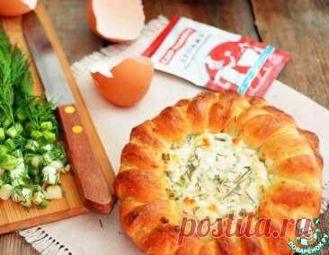 Ватрушки с творогом, брынзой и зеленью – кулинарный рецепт