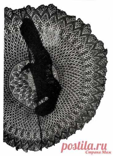 Шикарный наряд! Ажурное платье шетландскими узорами. Спицы. - ВЯЗАНАЯ МОДА+ ДЛЯ НЕМОДЕЛЬНЫХ ДАМ - Страна Мам