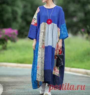 Linen dresses longsleeve linen dress Oversize dress Women   Etsy