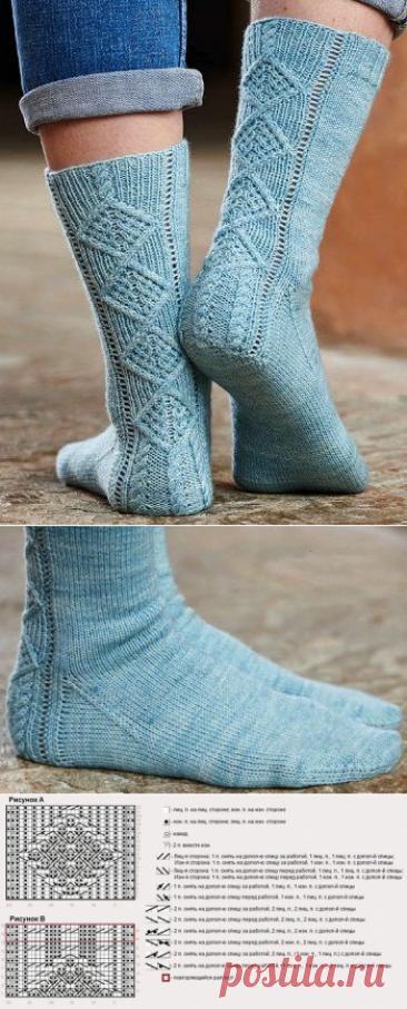 Вязаные носки «Retrospect»
