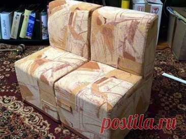 Мебель из картона: кресла