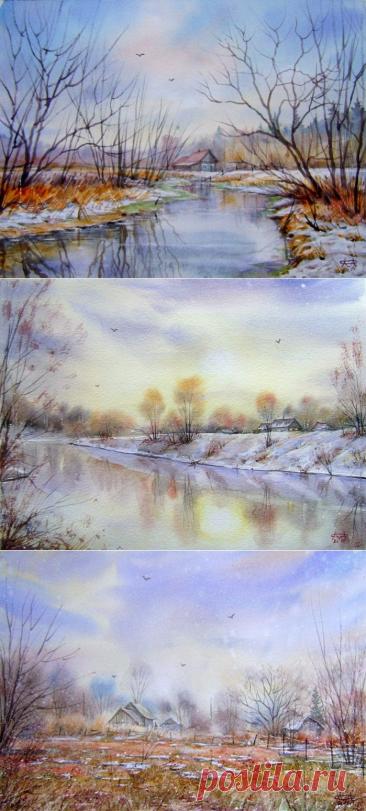 Весна в творчестве художника Сергея Морозова