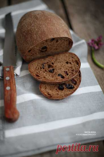 Хлеб от души и для души: карельский заварной с изюмом на закваске - Good things — LiveJournal