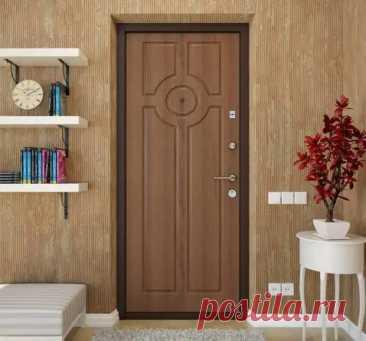 Как креативно украсить дверь с помощью ламината - Самоделкино - медиаплатформа МирТесен