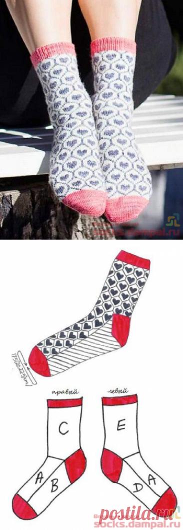 Вязаные носки «Elske» | ВЯЗАНЫЕ НОСКИ