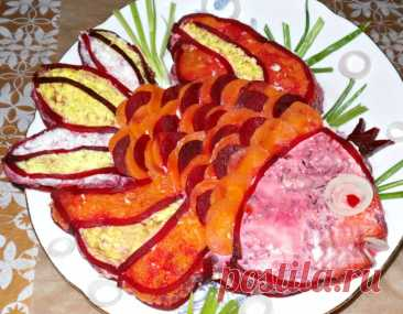 Любимый салат на любой вкус – Селедка под шубой с яблоком и яйцом