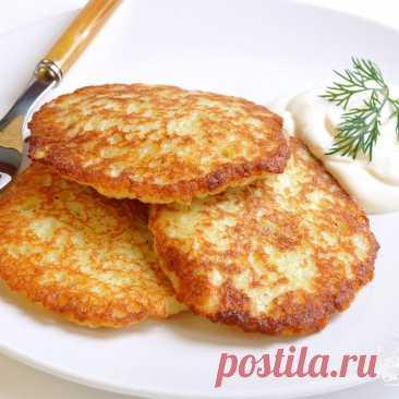 Драники картофельные - пошаговый рецепт с фото на Готовим дома