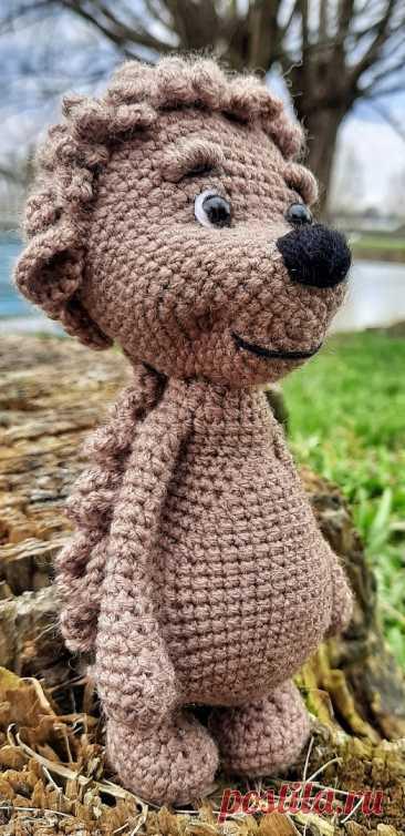 PDF Ёжик НЕколючий крючком. FREE crochet pattern; Аmigurumi animal patterns. Амигуруми схемы и описания на русском. Вязаные игрушки и поделки своими руками #amimore - маленький ёжик, ёж, ежиха.
