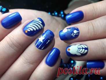 Звездный маникюр - фото идей дизайна ногтей - Best Маникюр