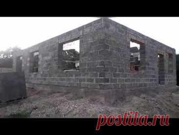 Махошевская Мостовского района, строим дом из Арболит блока.